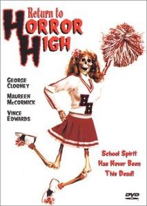 RETURN TO HORROR HIGH DVD