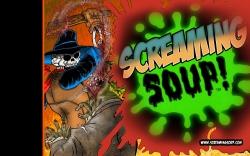 ScreamingSoupWallpaperCopyright2014SplatterWidescreen