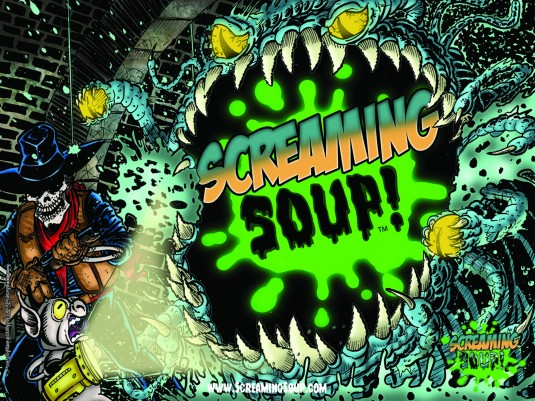 ScreamingSoup16x12posterDeadwestSewer