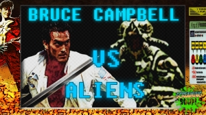 screamingsoup presents bruce campbell vs ALIENS
