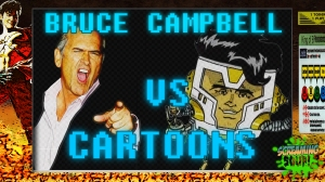 screamingsoup presents bruce campbell vs CARTOONS