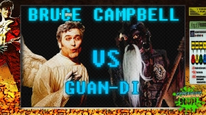 screamingsoup presents bruce campbell vs GUAN DI