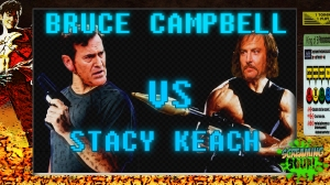 screamingsoup presents bruce campbell vs STACY KEACH