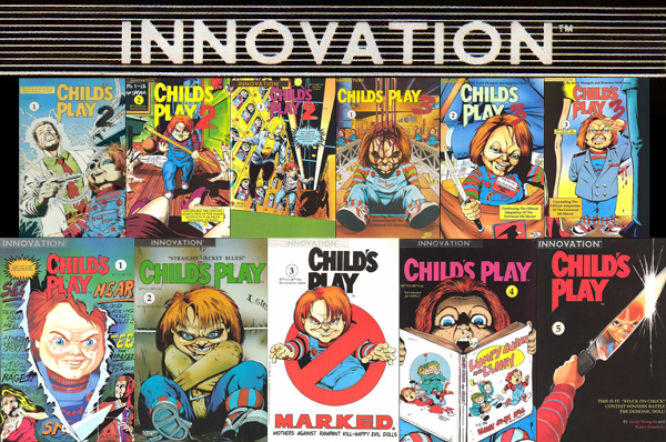innovation childs play comics